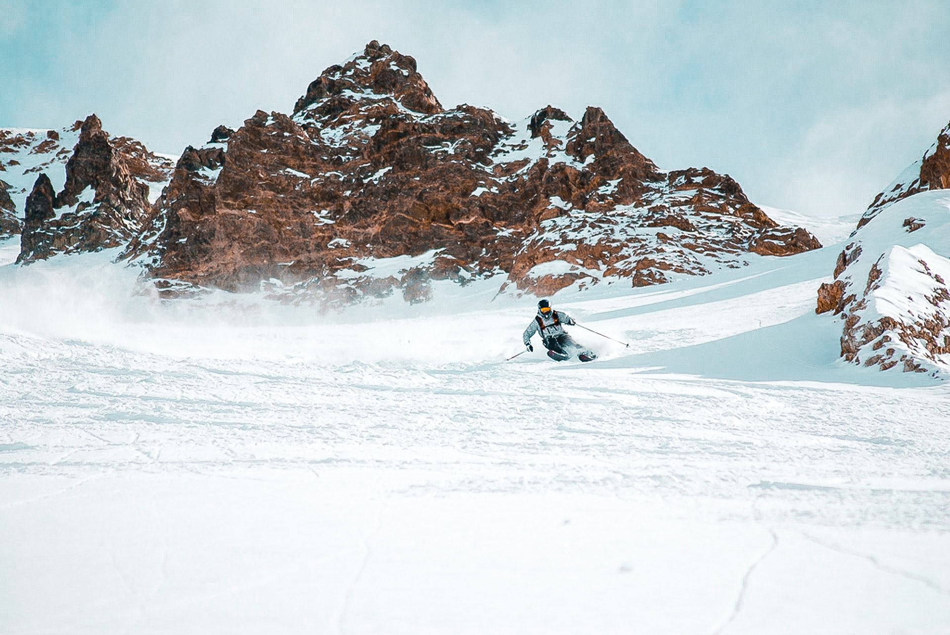 Skier in Chile First Tours