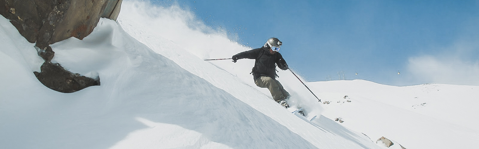 Skiing Gulmarg First Tours