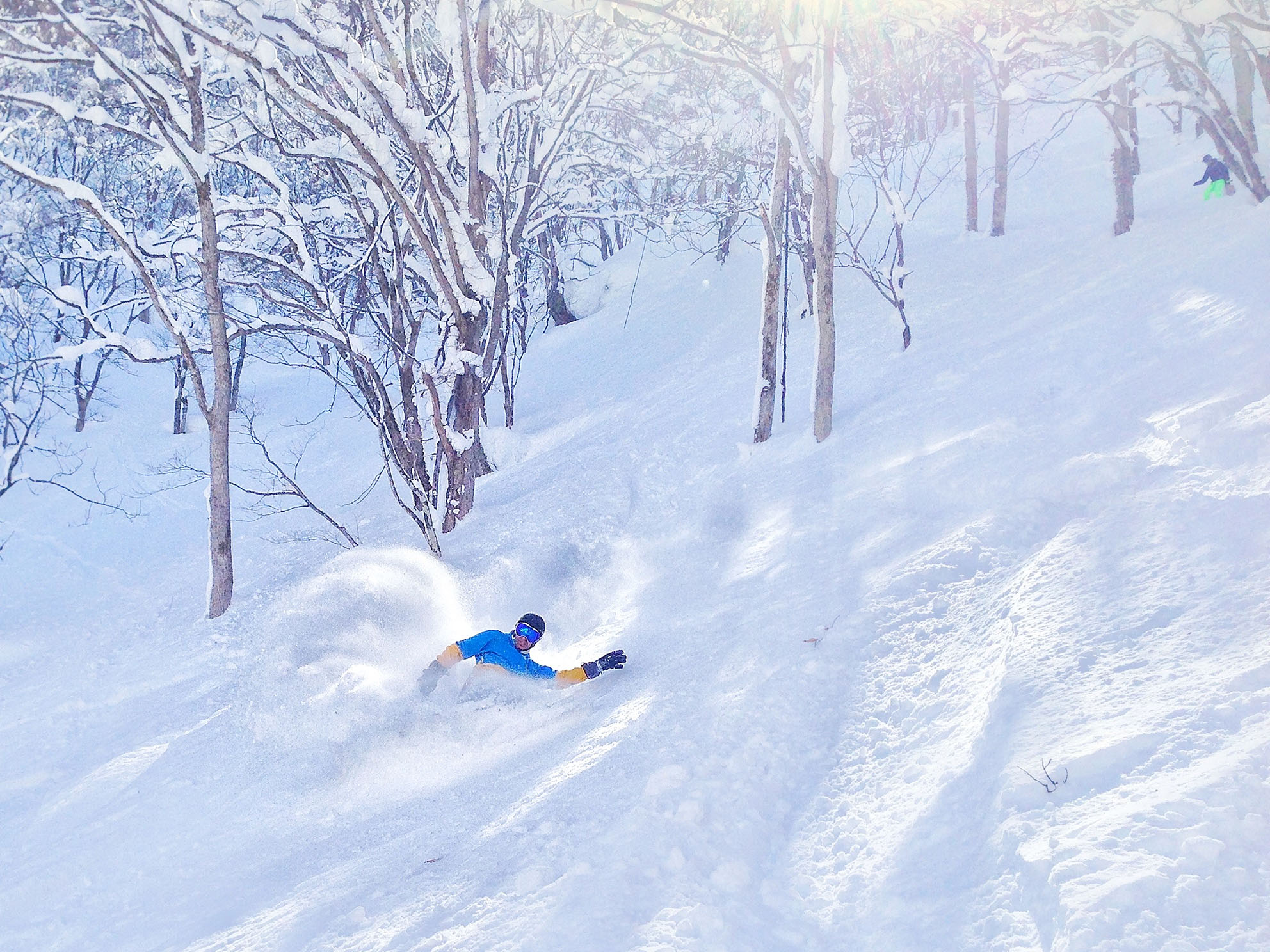 Powder turns Nozawa Onsen Powder Culture Tour First Tours