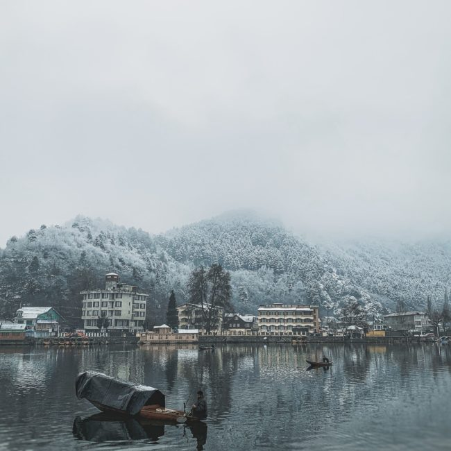 Dal Lake, Srinagar mist First Tours