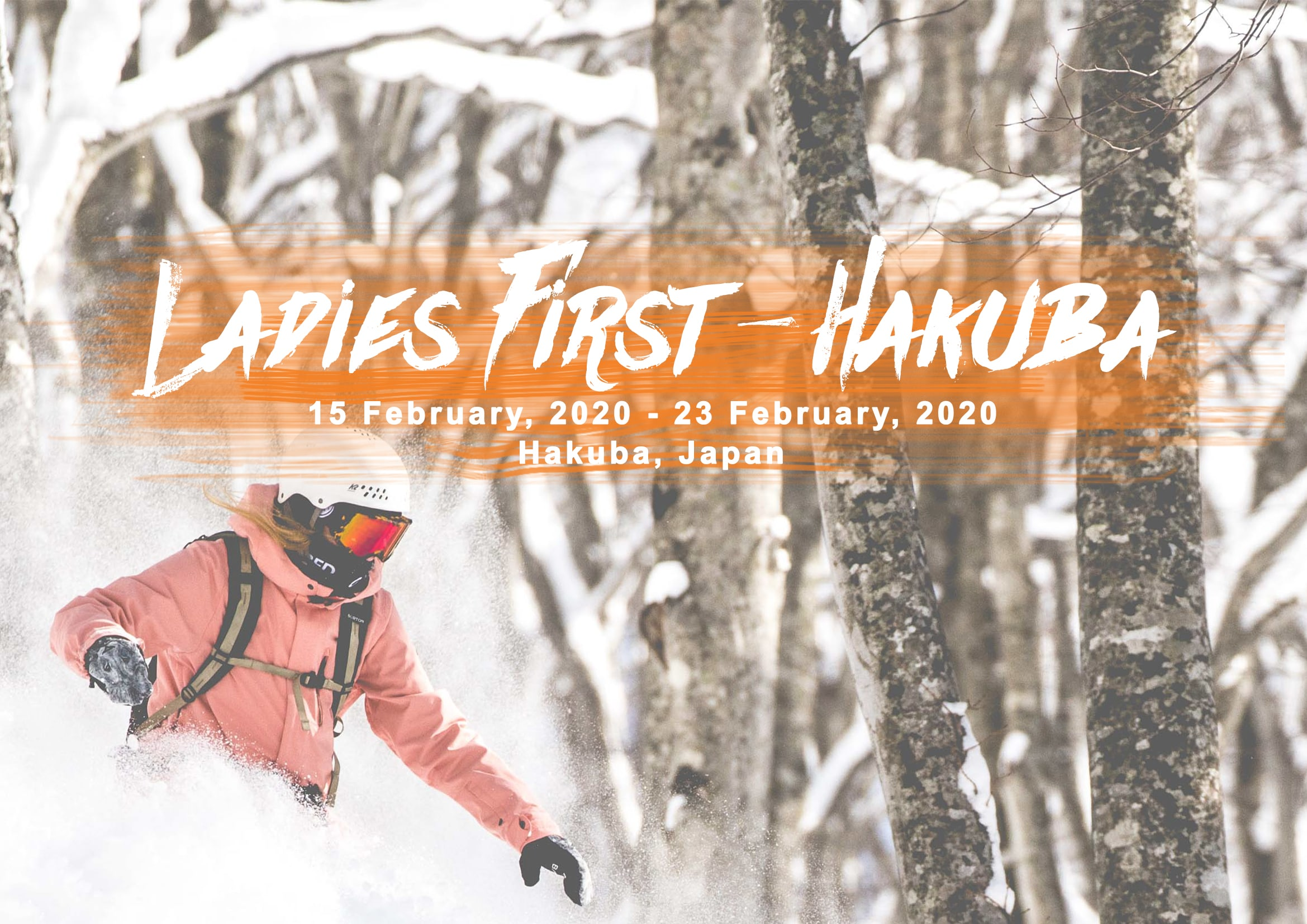 Ladies tour in Hakuba Japan with First Tours