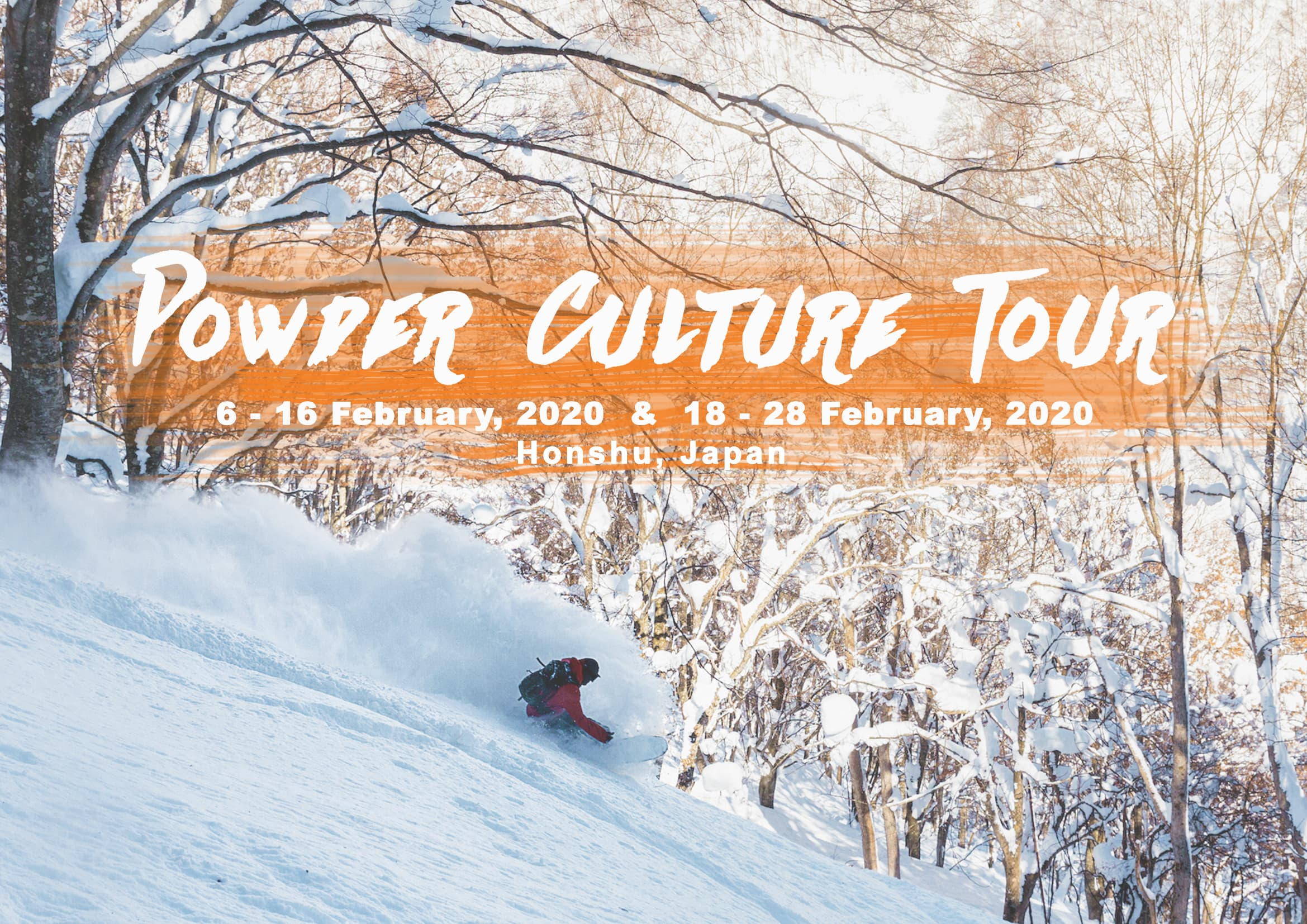 Powder Culture Tour 2020 with First Tours