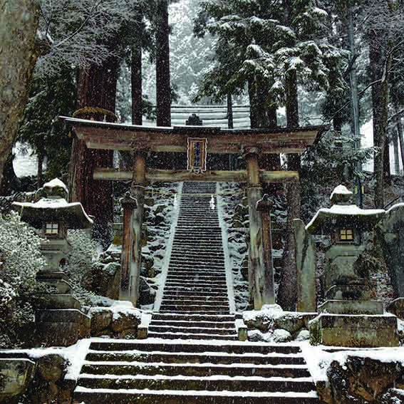 Shrine Nozawa Onsen Powder Culture First Tours