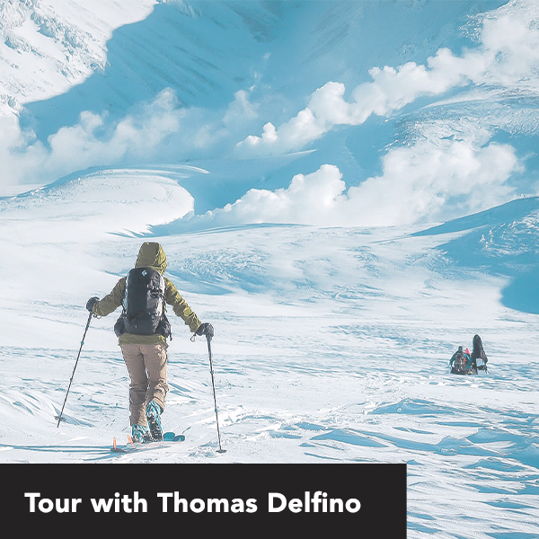 Thomas Delfino Splitboard Tour 2020 with First Tours